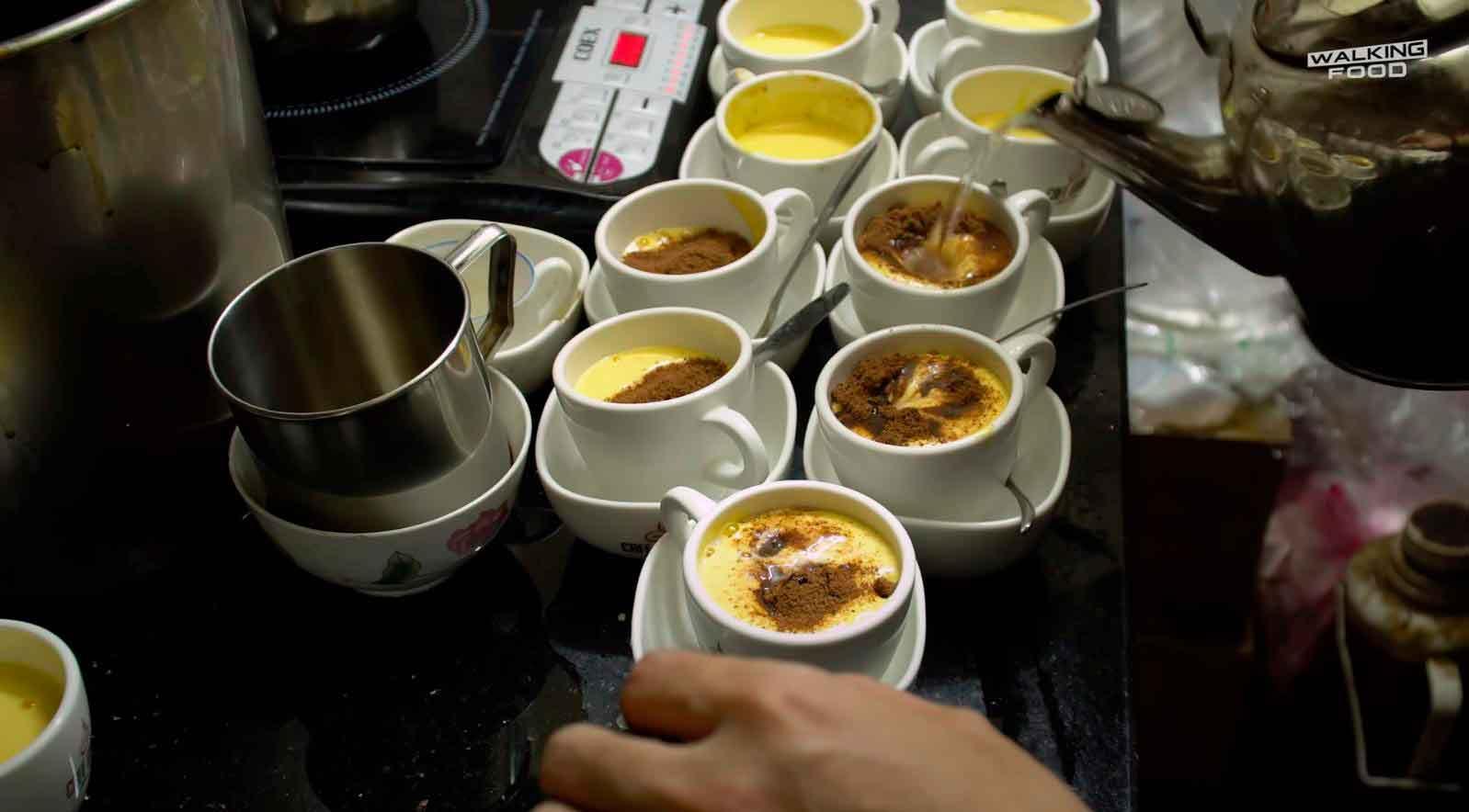 Рецепт вьетнамского кофе с яйцом